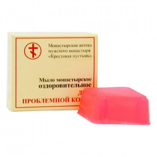 Монастырское мыло «Для проблемной кожи» 30 гр.