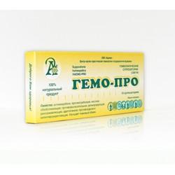 ГЕМО-ПРО, суппозитории (свечи) №10 (Адонис)