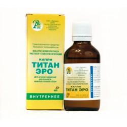 Гомеопатические капли ТИТАН ЭРО (TITAN ERO) 50мл.(Адонис)