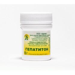 Гранулы гомеопатические «ГЕПАТИТОН»10гр.