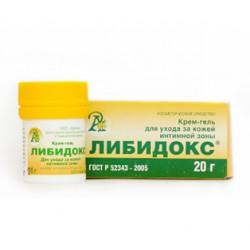 Крем-гель для интимной зоны «ЛИБИДОКС» 20гр.