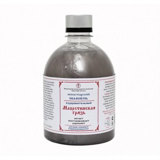 Монастырский шампунь для волос «Мацестинская грязь» 500 мл.