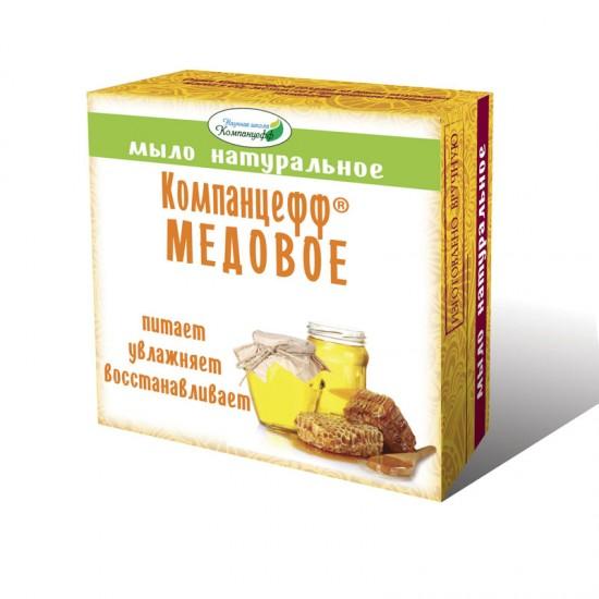 Мыло натуральное «Компанцефф® «Медовое», 95 гр