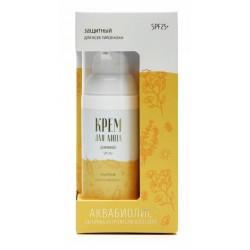Аквабиолис Крем для лица дневной SPF 25 для всех типов кожи «Защитный» 50 мл.